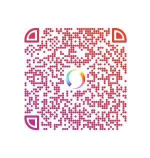 QR-kod för att skänka en gåva via Swish